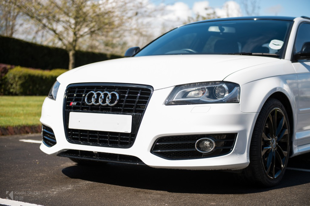 Audi S3 White and Black