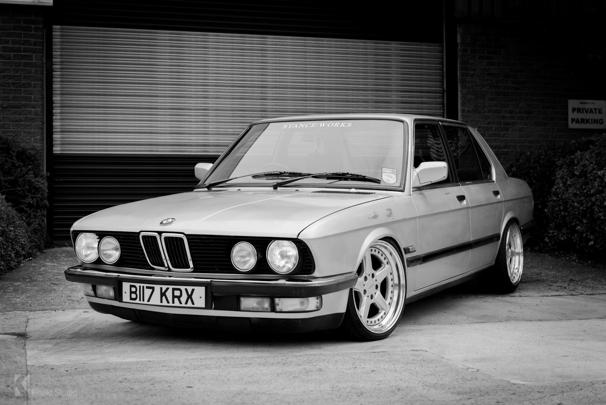 BMW 525e E28 stanced