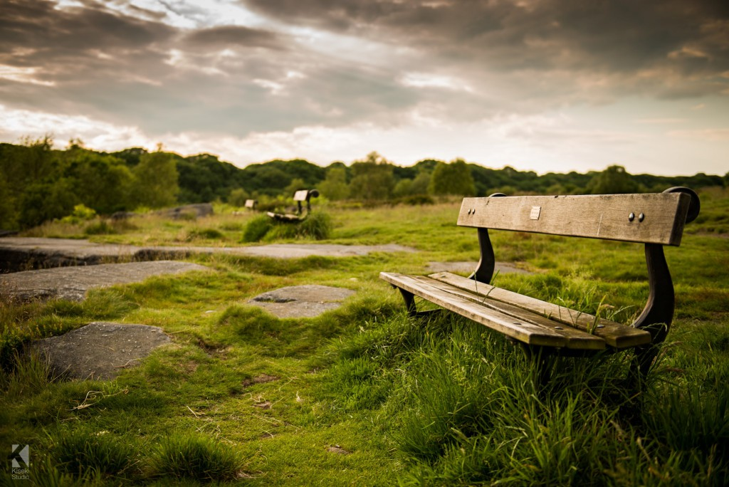 Shipley Glen bench