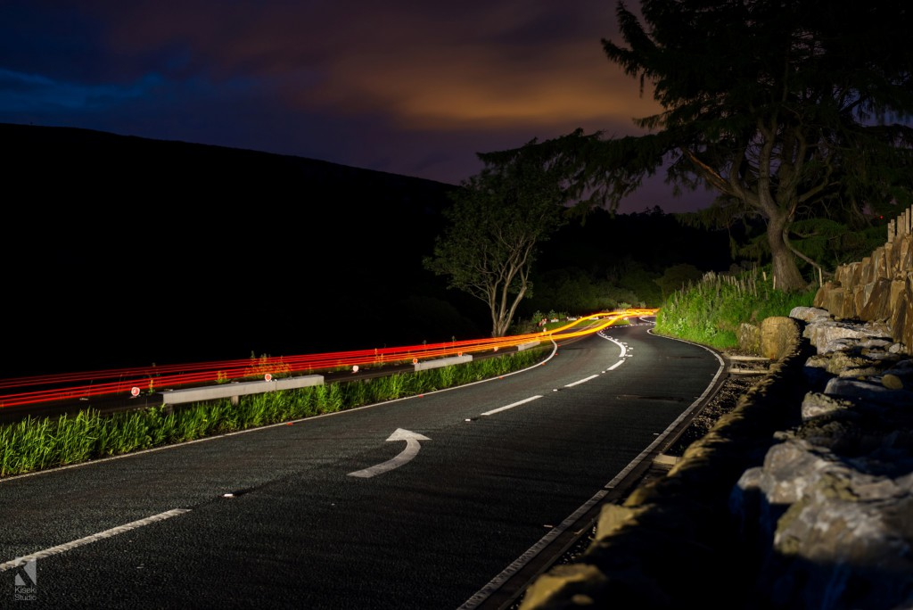 A59 Blubberhouses light trails