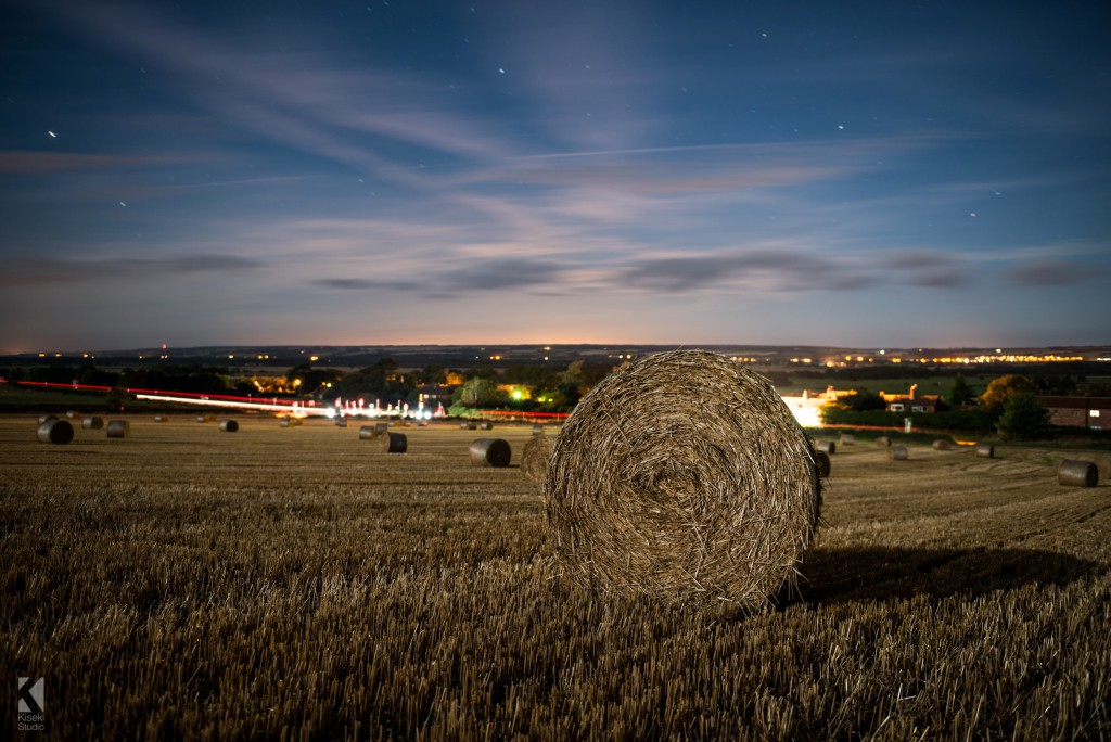 Hay Bail near Scarborough