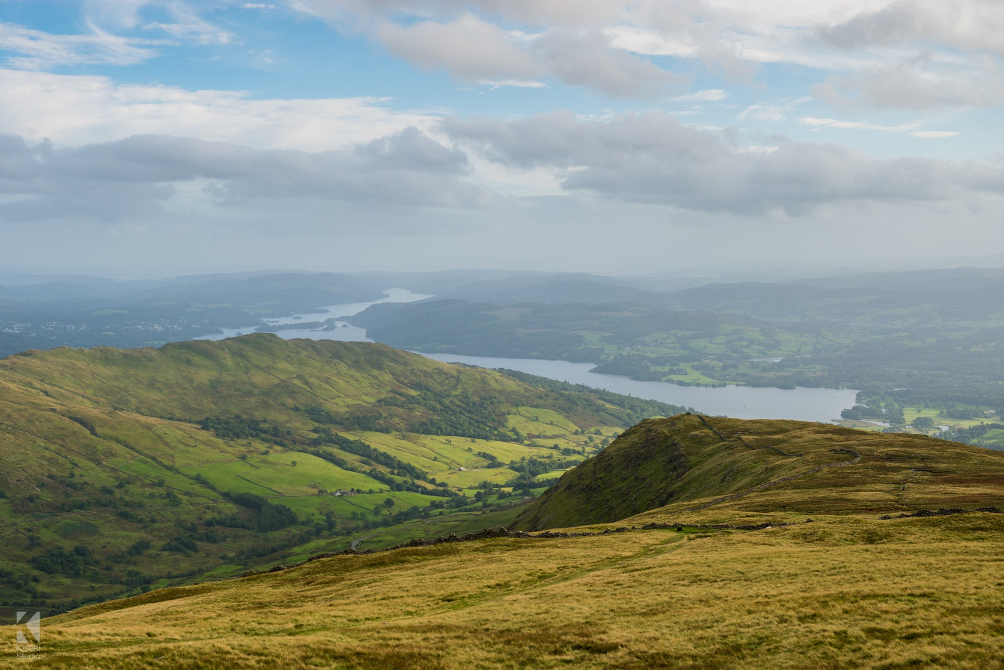 Lake Windermere from Red Screes