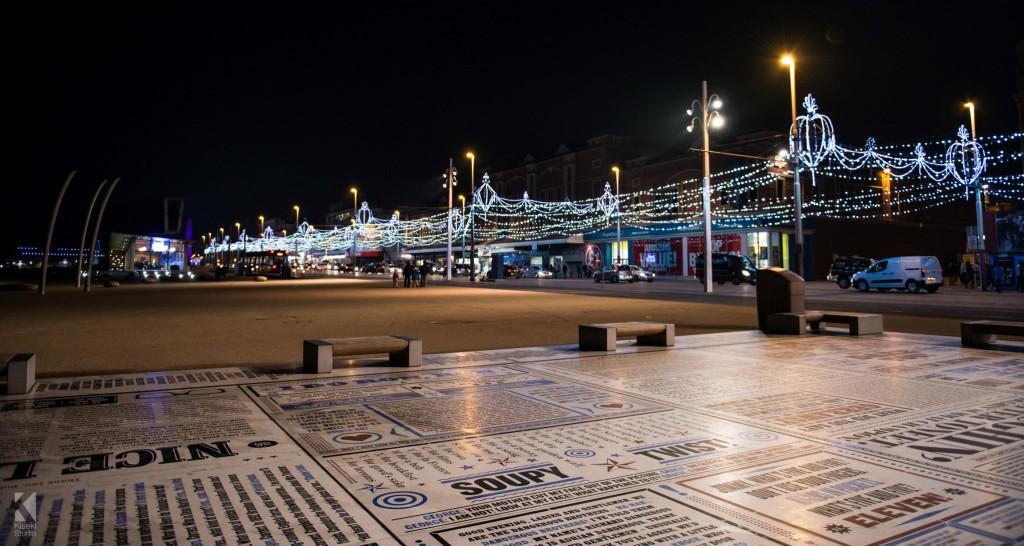 Blackpool Promenade and illuminations