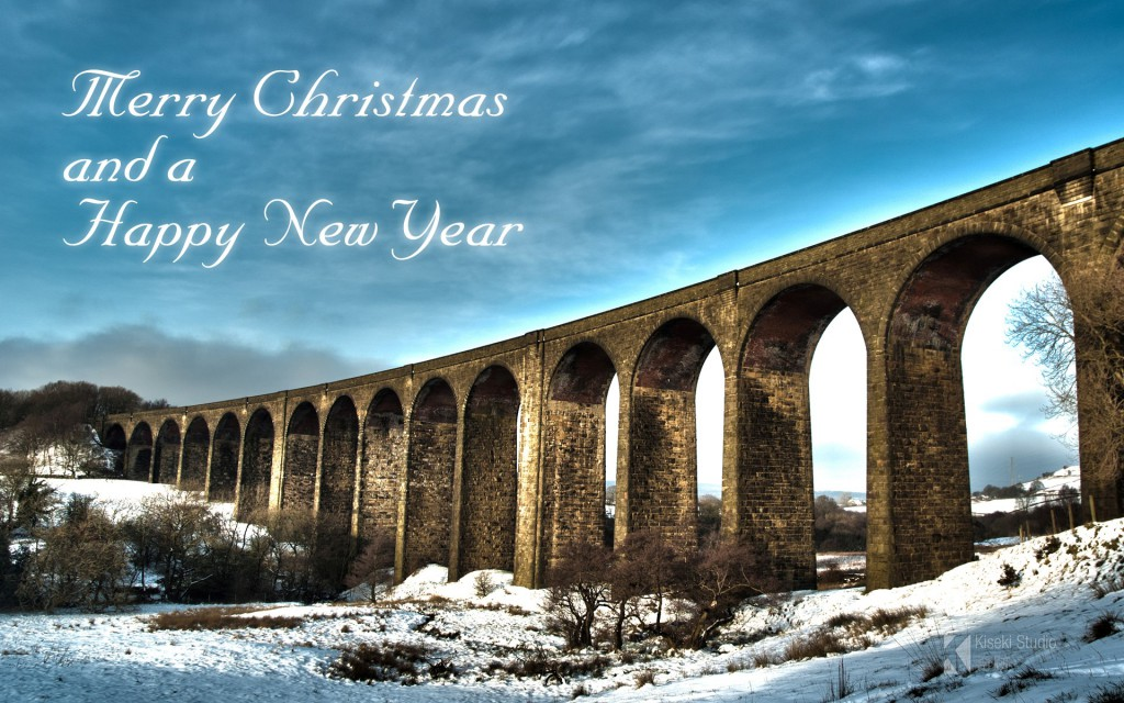 Hewenden Viaduct Merry Christmas