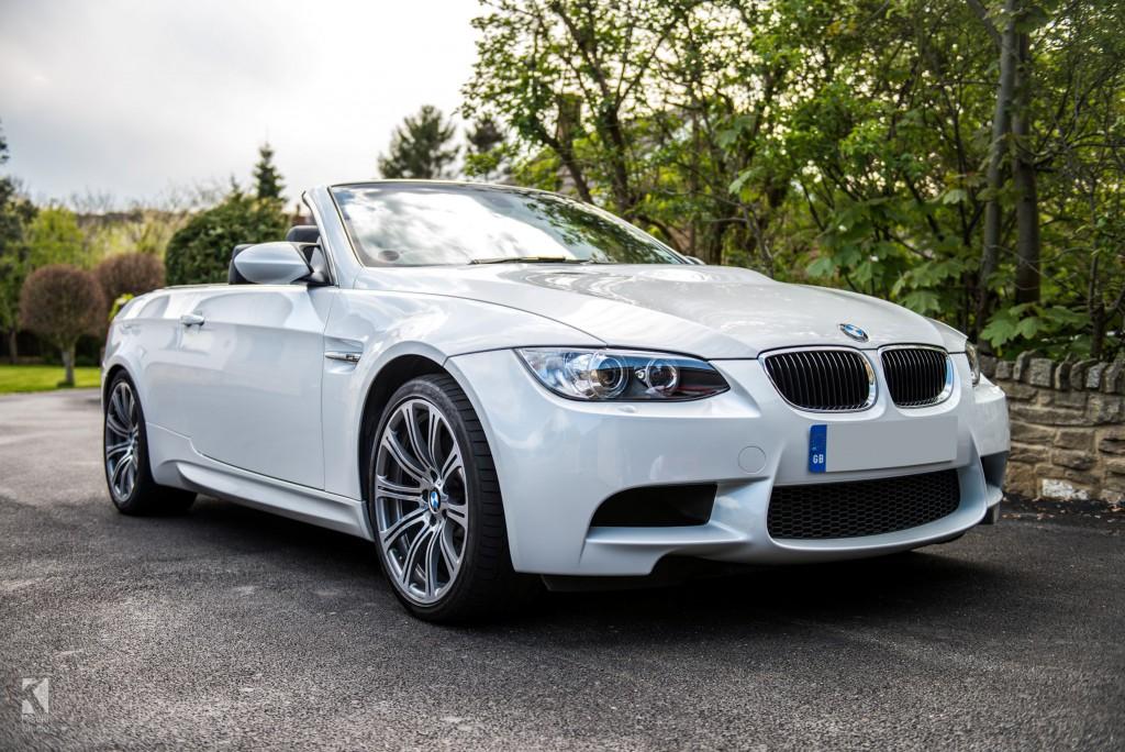 BMW M3 E92 Pearl White