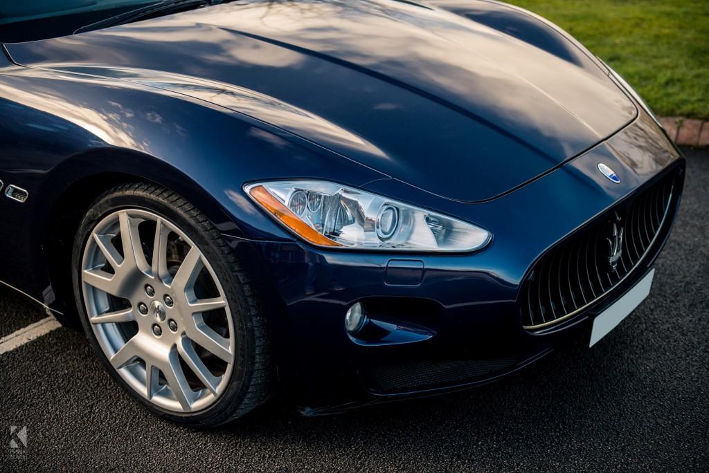 Maserati Gran Turismo in Blue