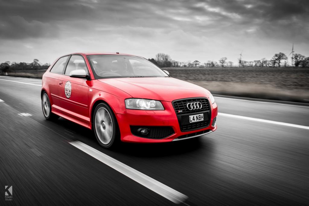 Audi S3 in Red