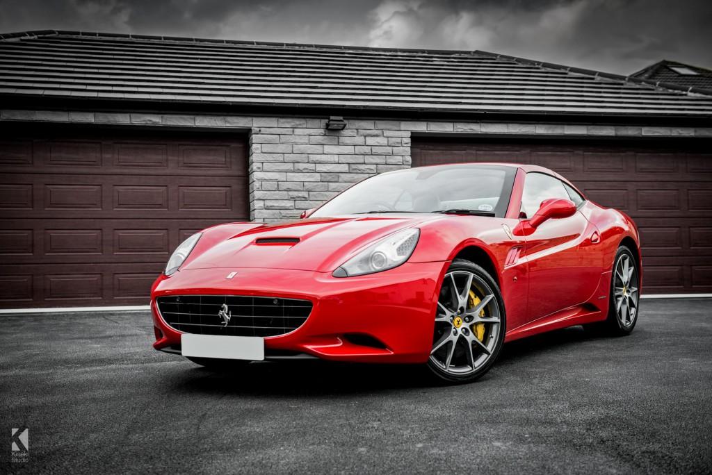 Ferrari California In Grey Kiseki Studio