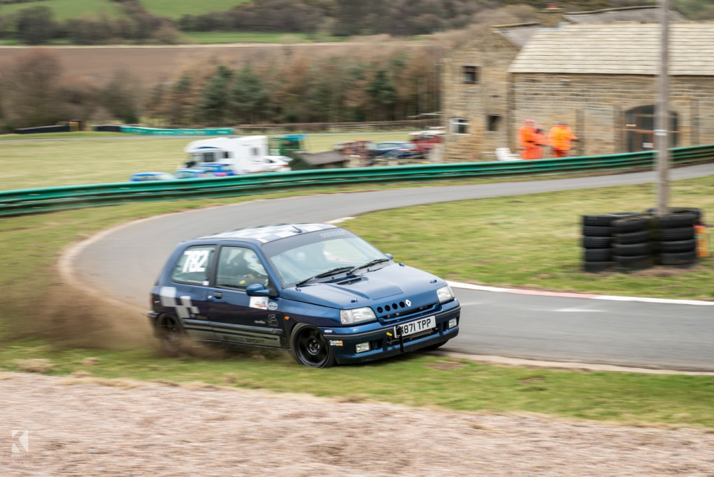 Renault Clio Williams at Harewood Hillclimb