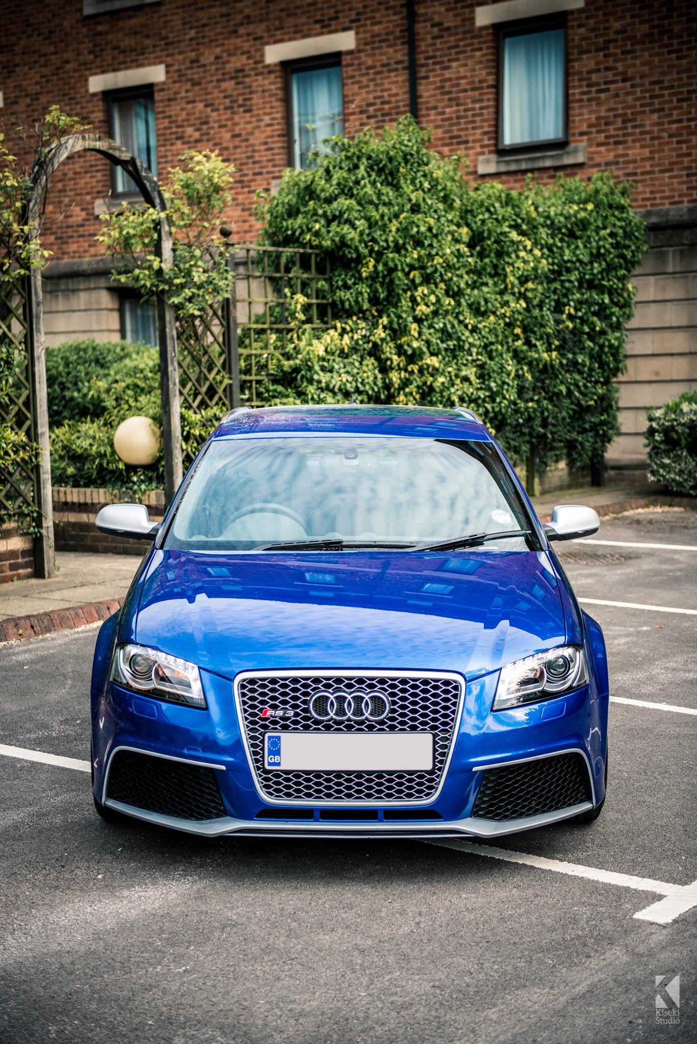 Audi A3 Sportback >> Audi RS3 Sportback in Sepang Blue - Kiseki Studio