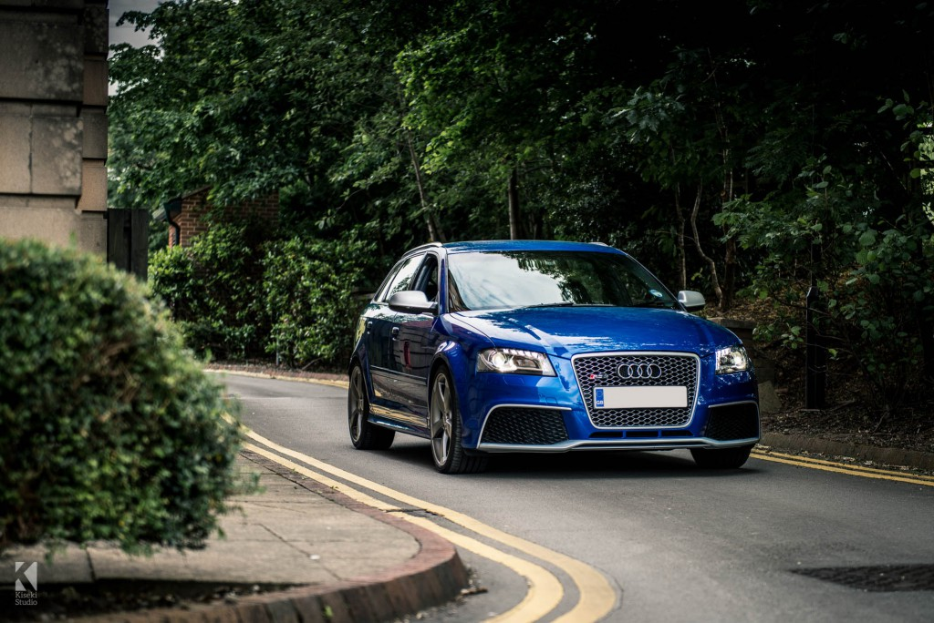 Audi RS3 Sepang Blue