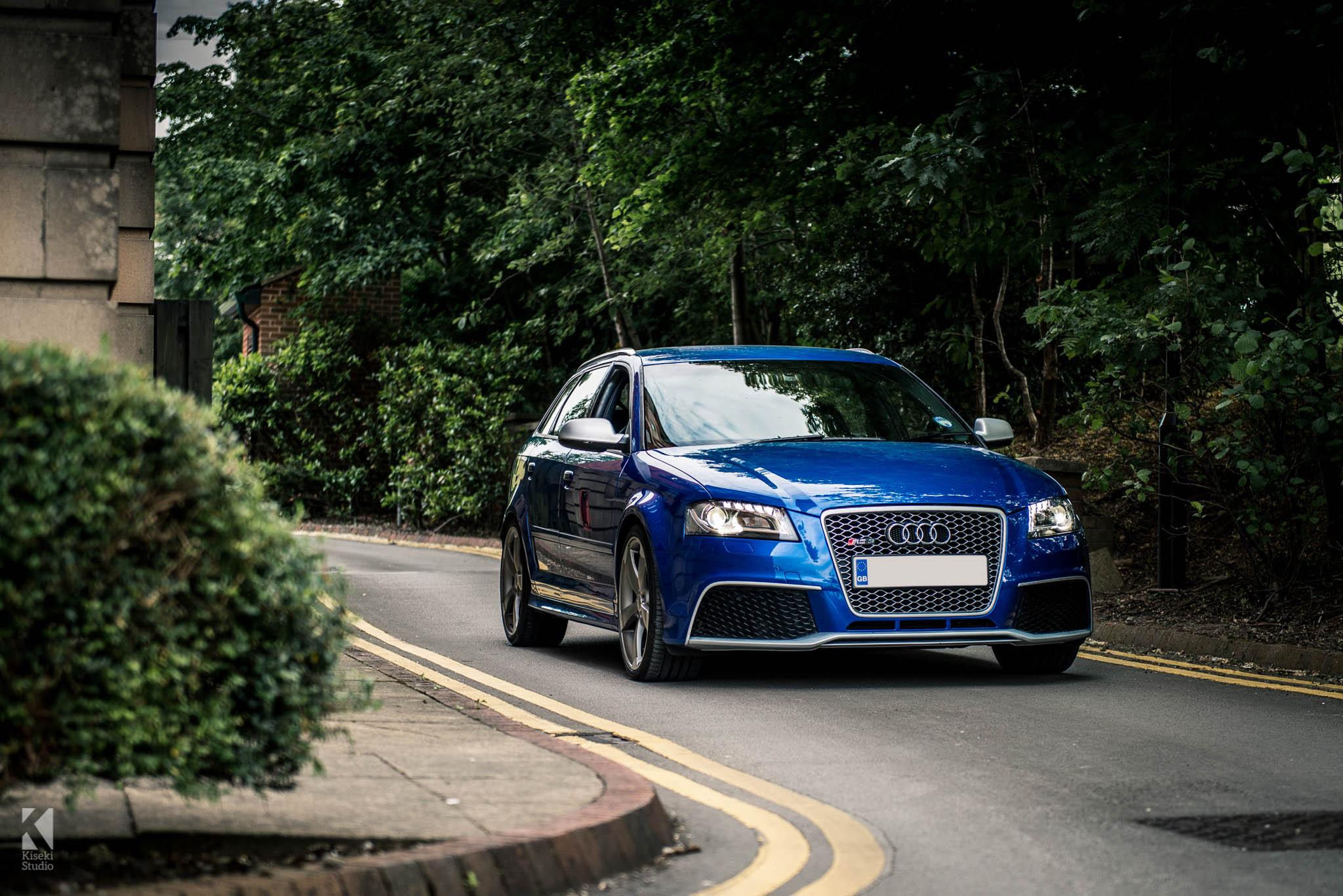 Audi RS3 Sepang Blue