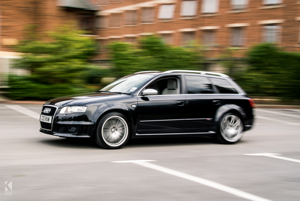audi rs4 avant b7 in black kiseki studio. Black Bedroom Furniture Sets. Home Design Ideas