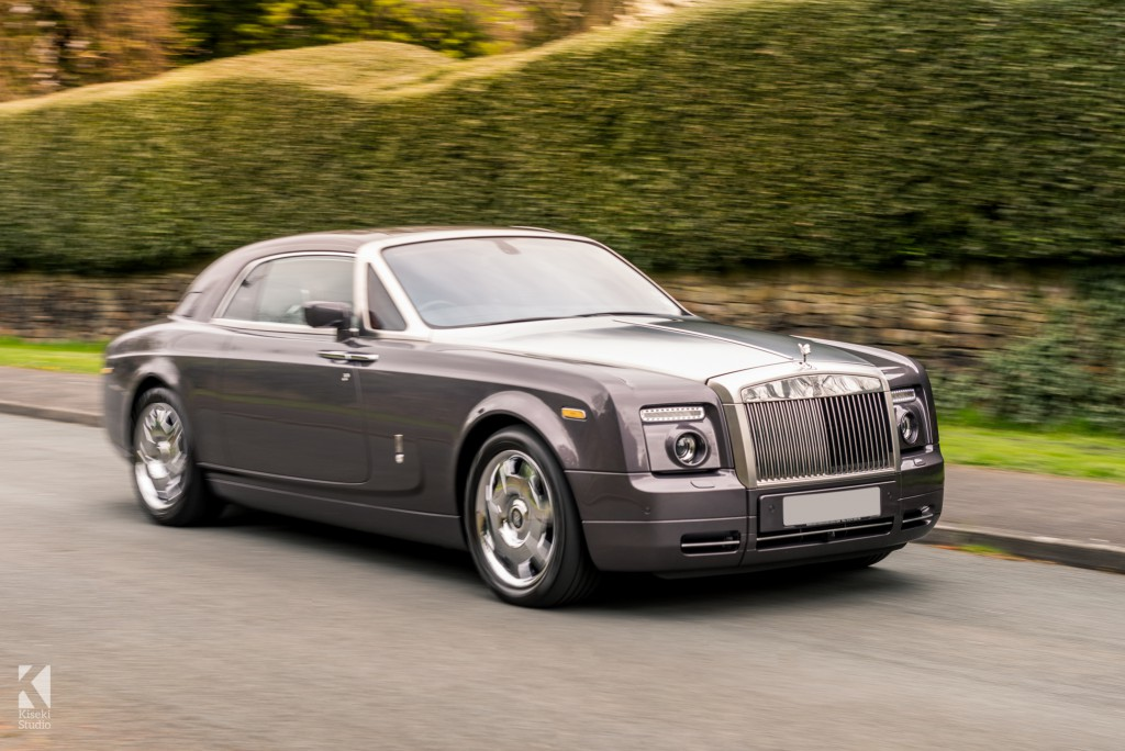 Rolls Royce Phantom Coupe in Grey