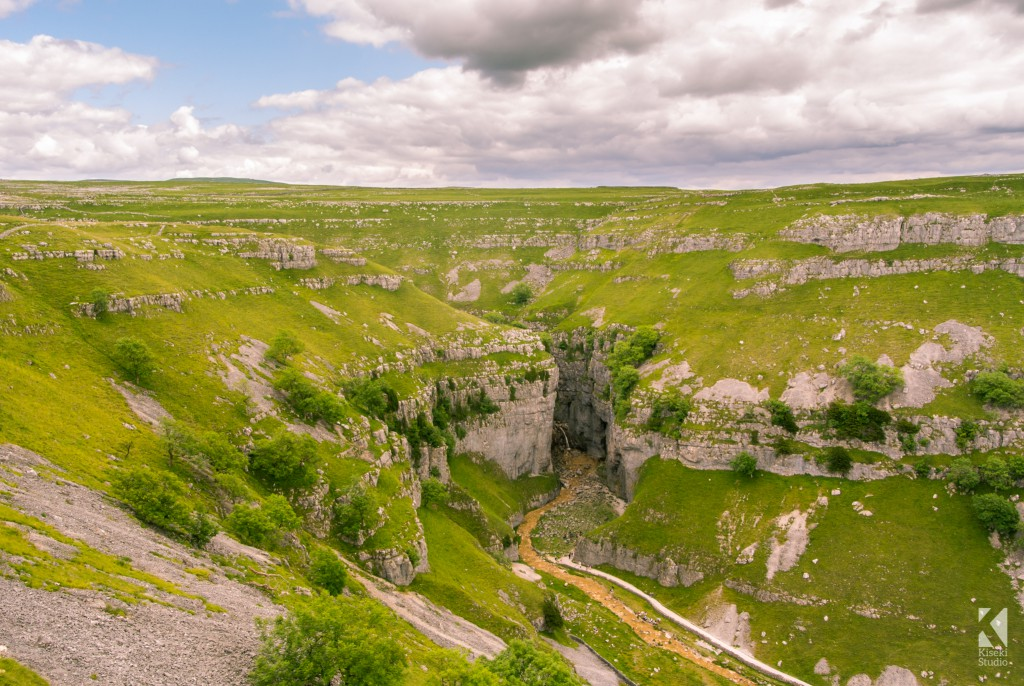 Gordale Scar in Malham