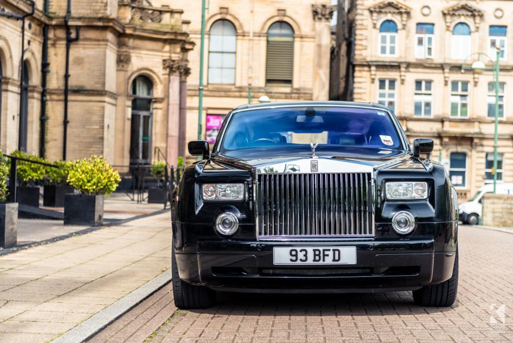 Rolls Royce Phantom in Black