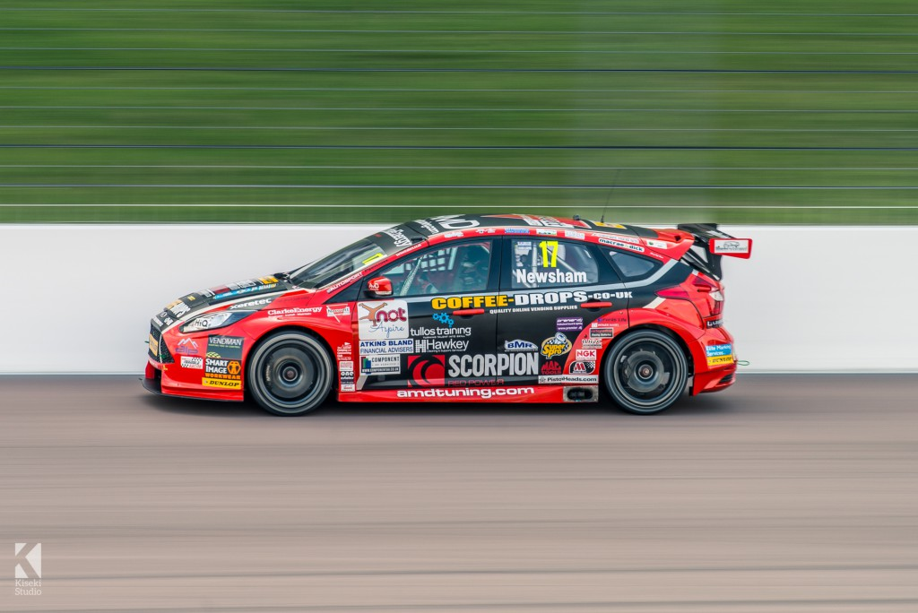 Ford Focus ST BTCC racing