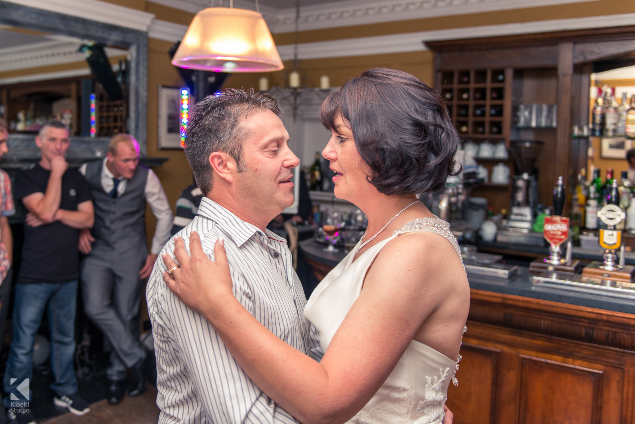 Bride and Groom First Dance at Grassington House