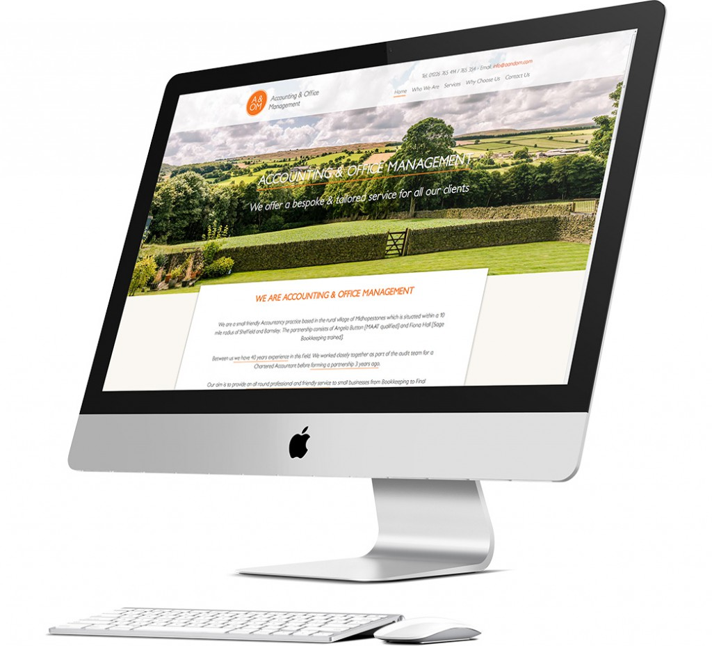 Accounting and Office Management Website Design