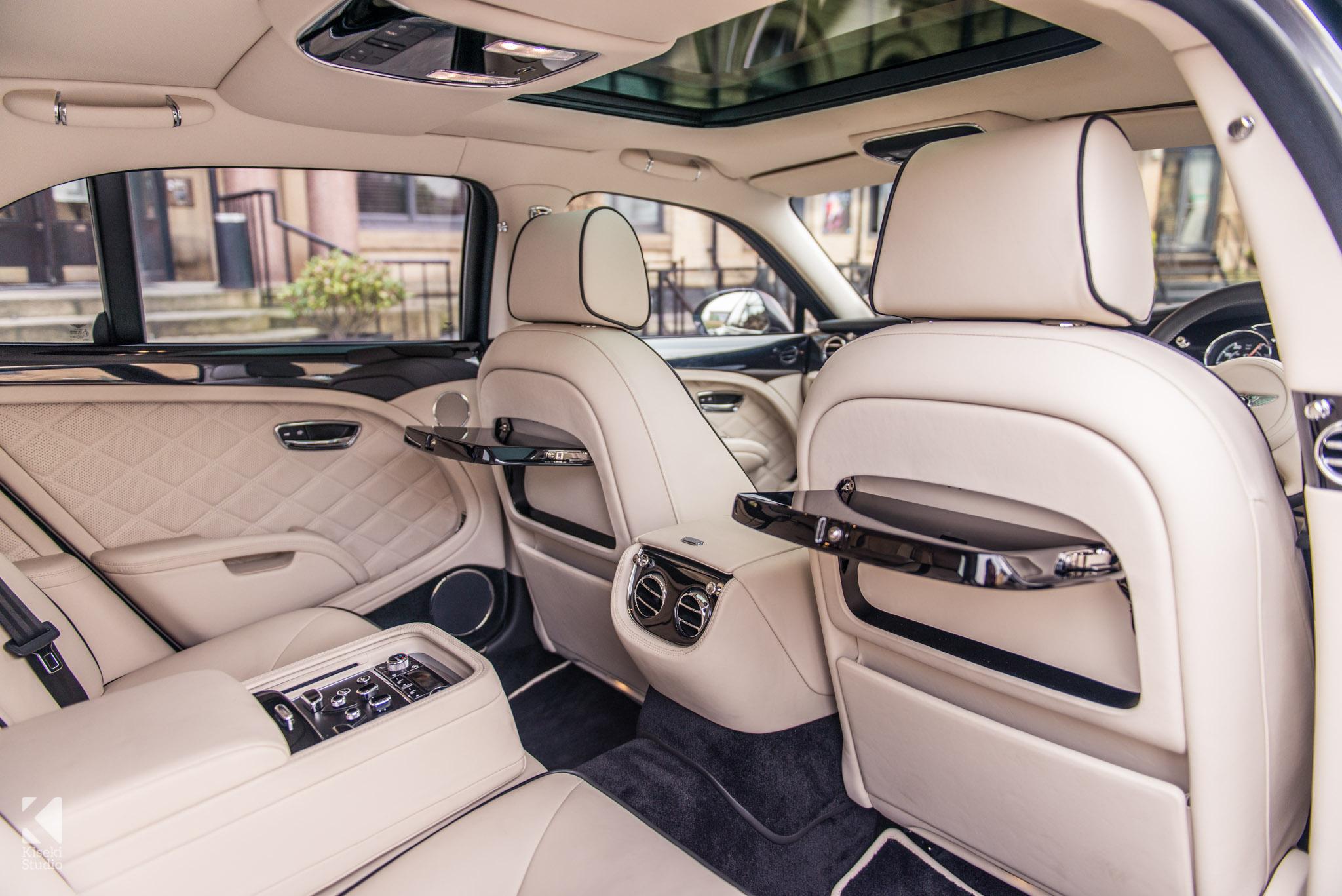 Bentley Mulsanne Ivory interior
