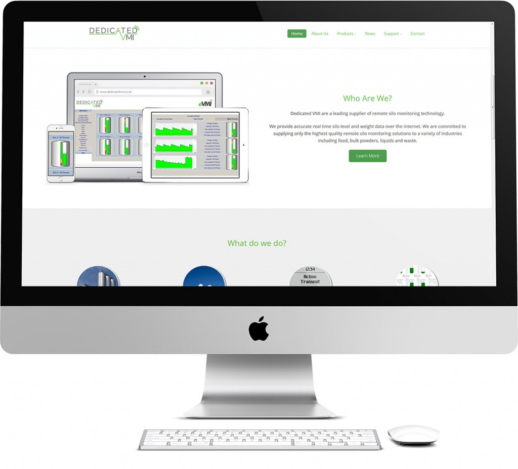 Dedicated VMI Website Design