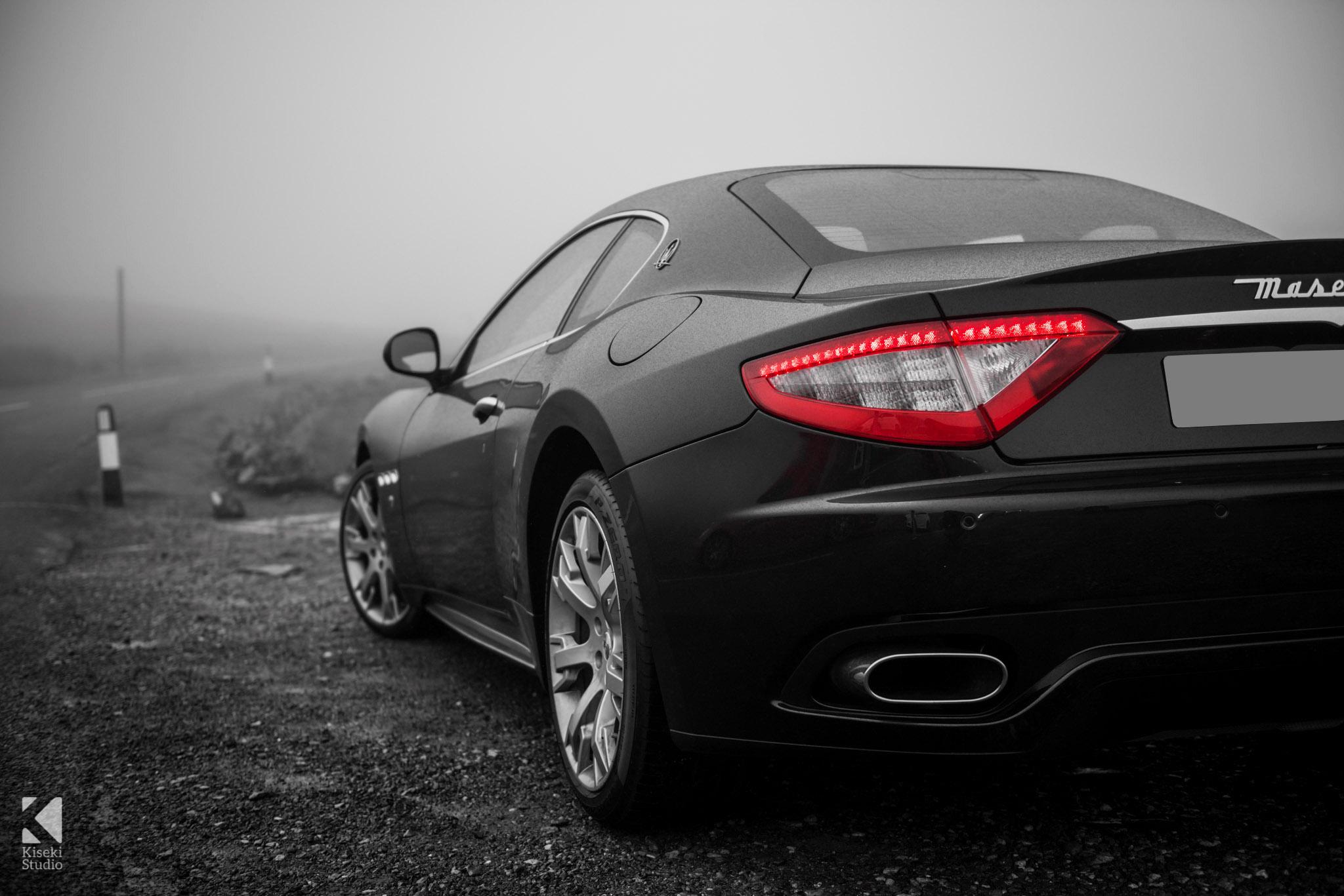 Maserati Gran Turismo S at Buttertubs Pass