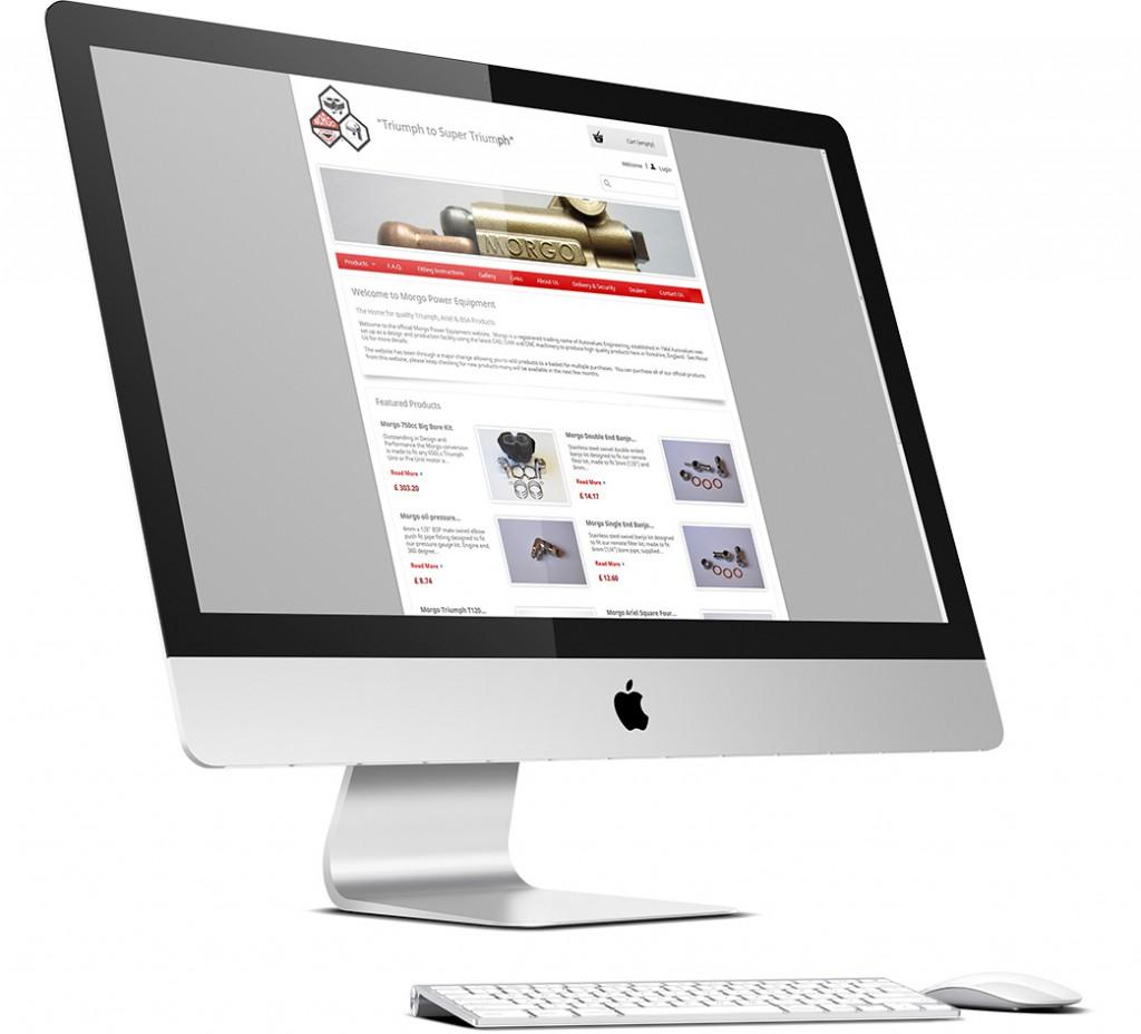 Morgo Power Equipment Website Design