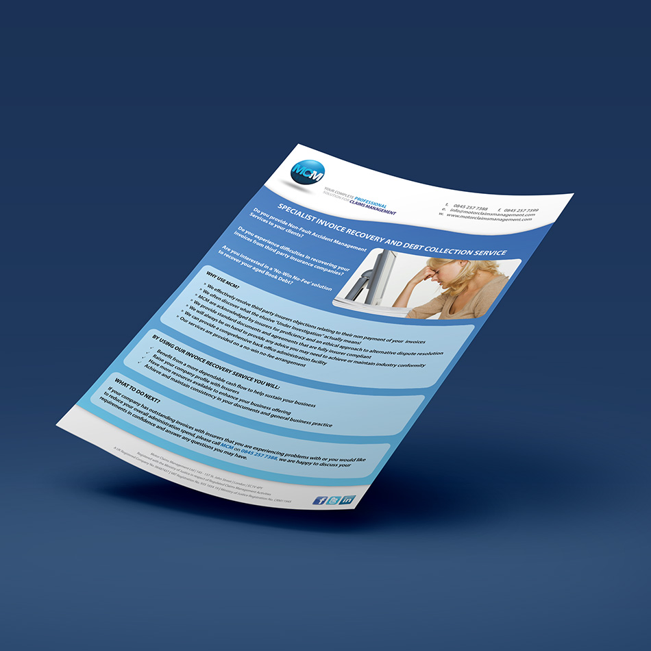 motor-claims-management-leaflet