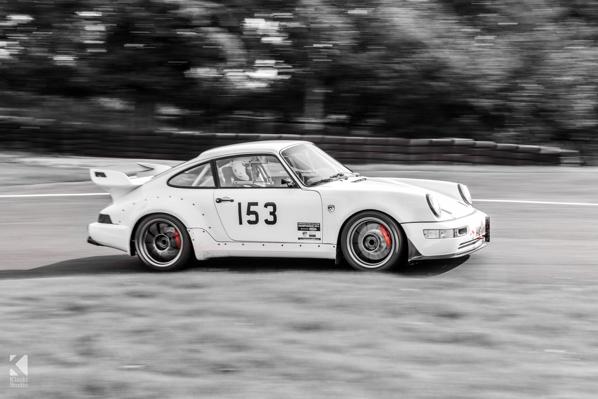 Porsche 911 Carrera 964 at Harewood Hill Climb