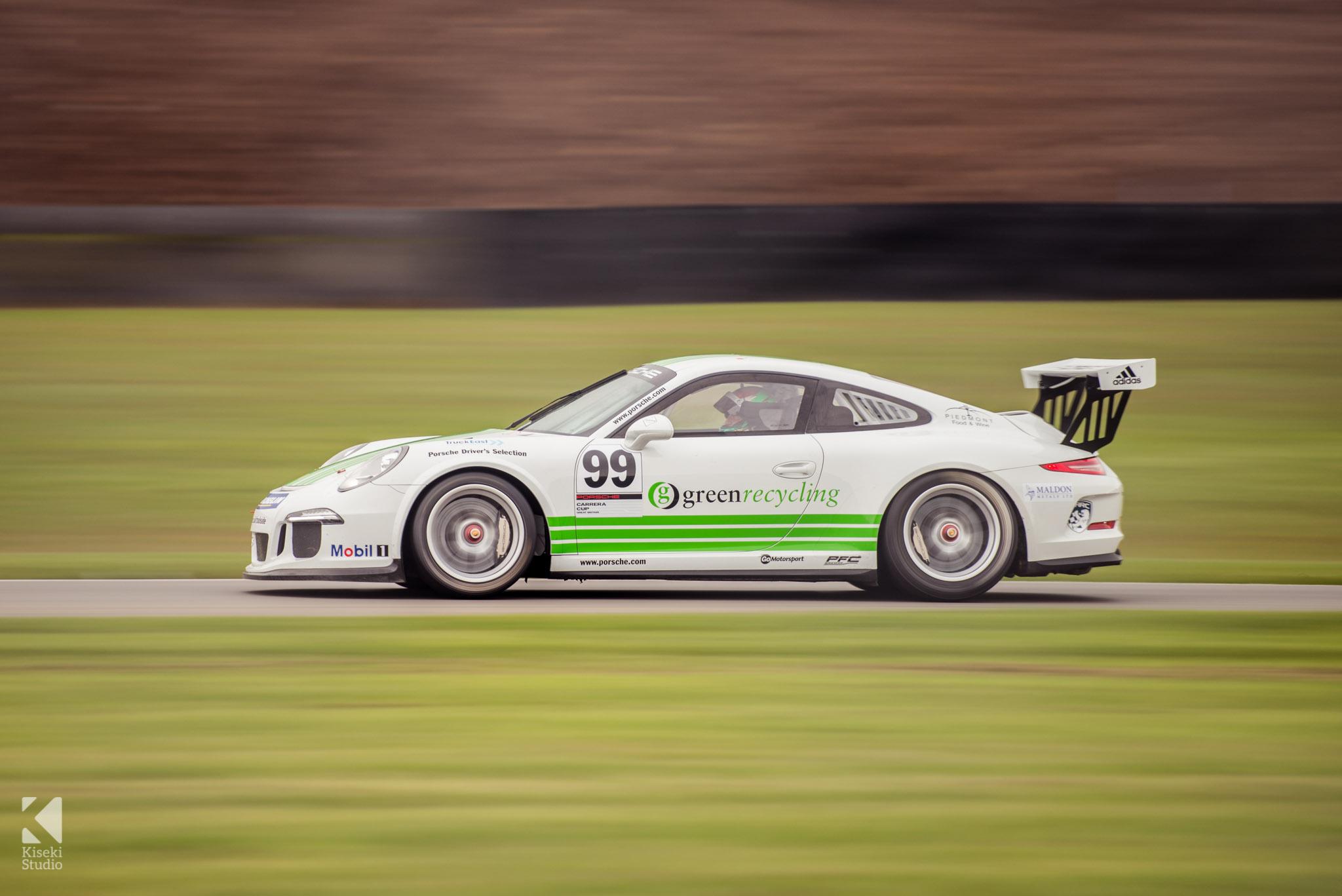 Porsche 911 GT3 Cup 991 at Donington