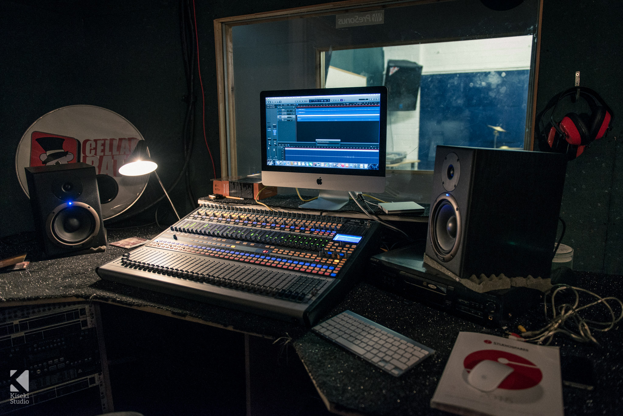 SORM Studios Production Booth