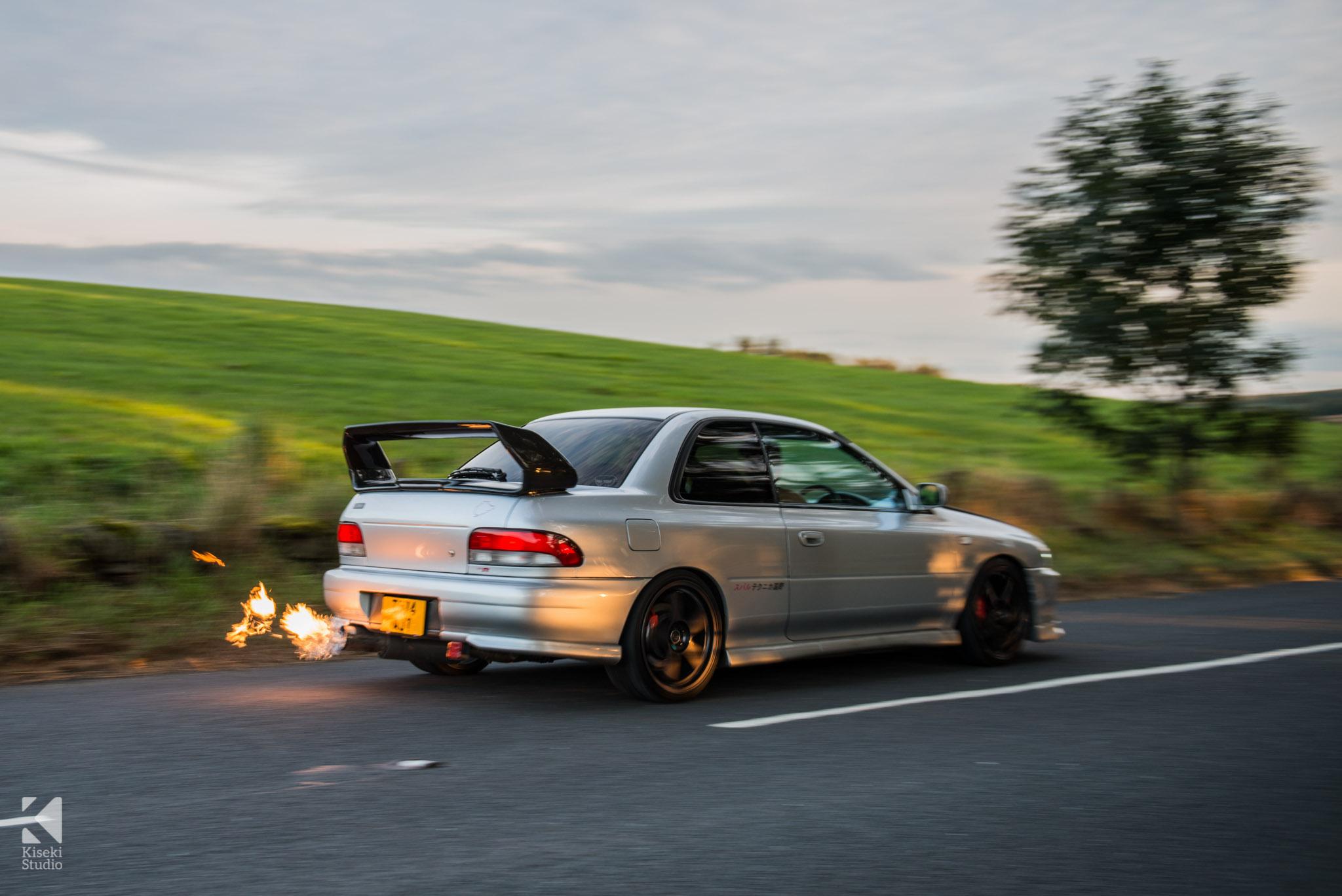 Subaru Impreza Sti Type R Gc8 Flaming Kiseki Studio