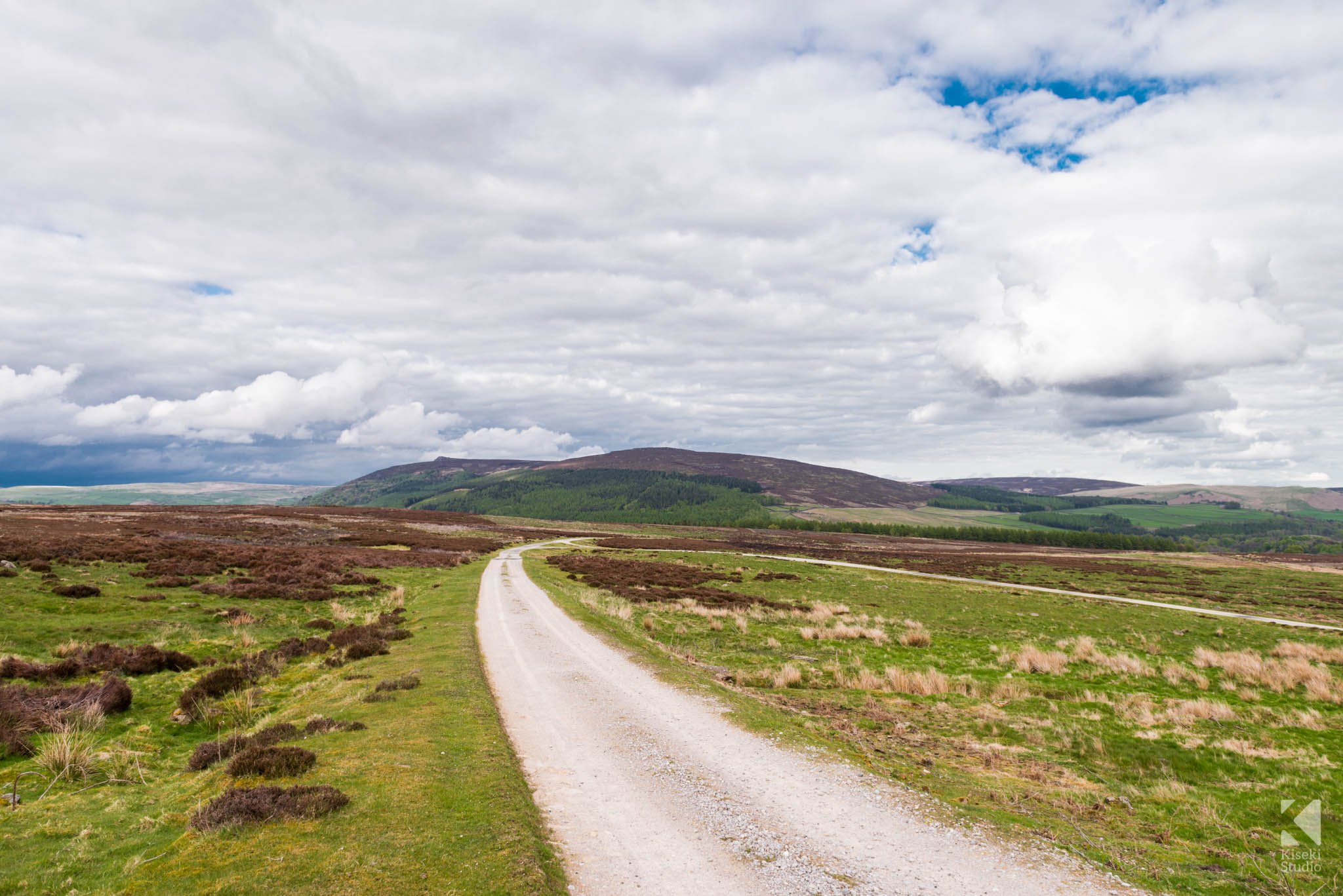 Dirt Road to Barden Reservoirs