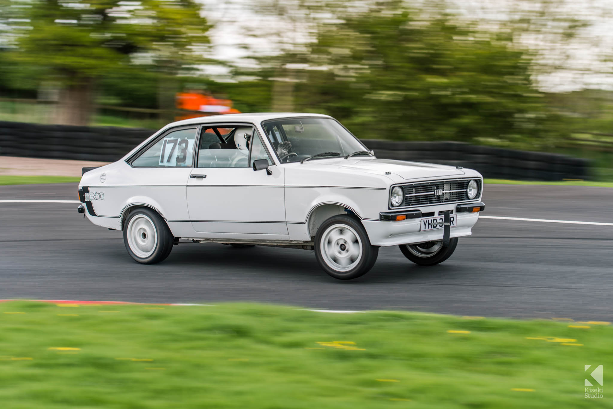 Ford Escort Mk2 Drifting - Harewood Speed Hillclimb