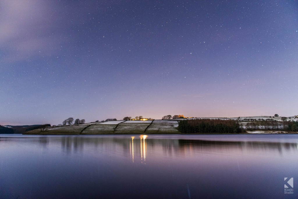 Star Scene over Thruscross