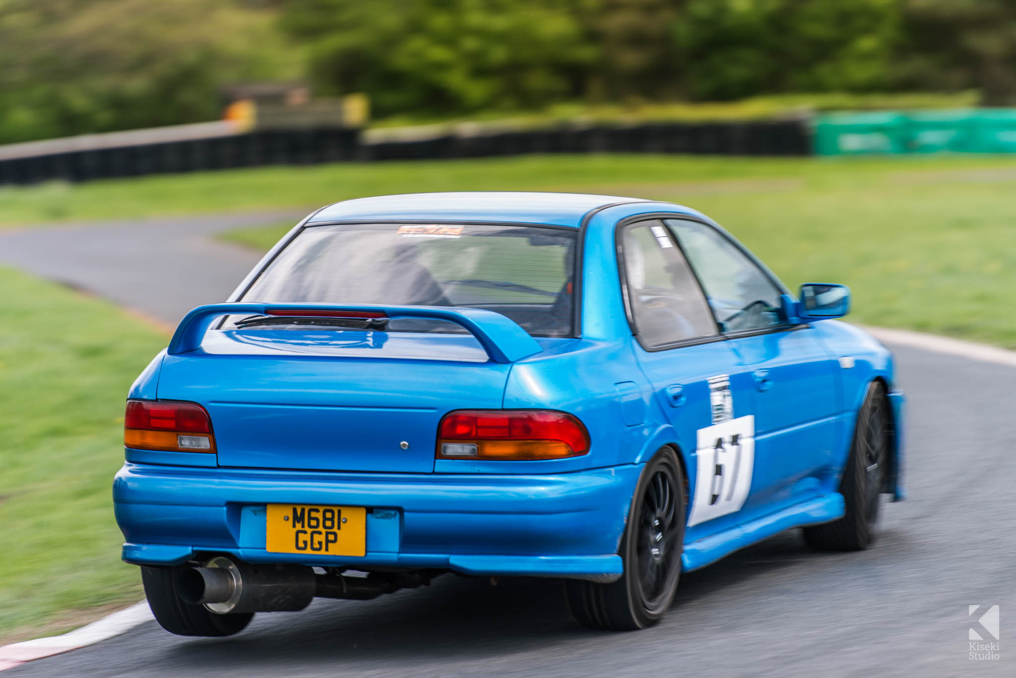 Subaru Impreza STI GC8 - Harewood Speed Hillclimb