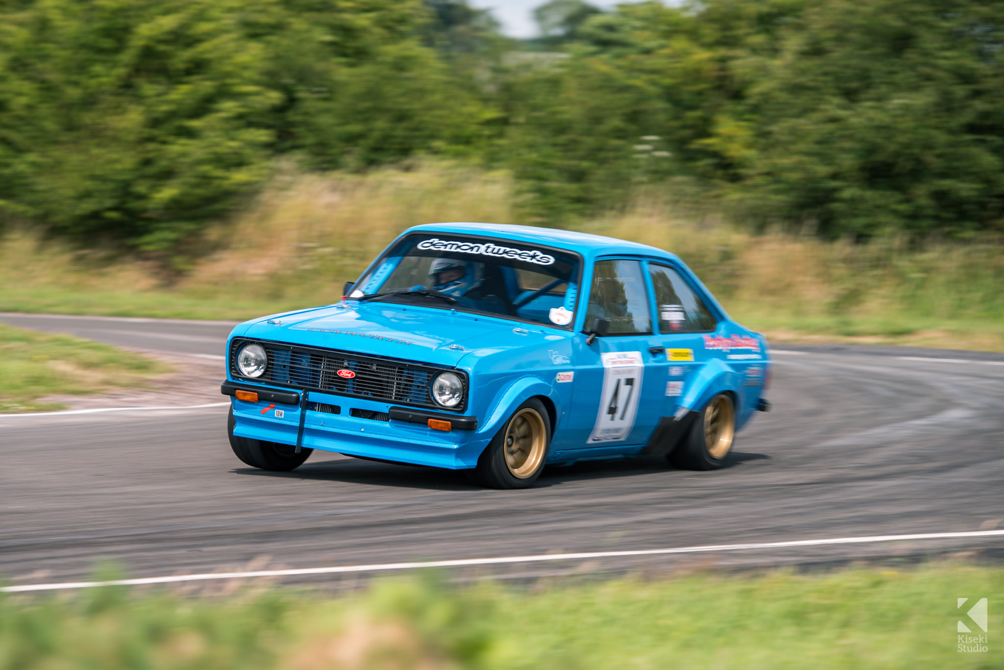 Ford Escort Mk2 Rally Car Curborough Sprint Course