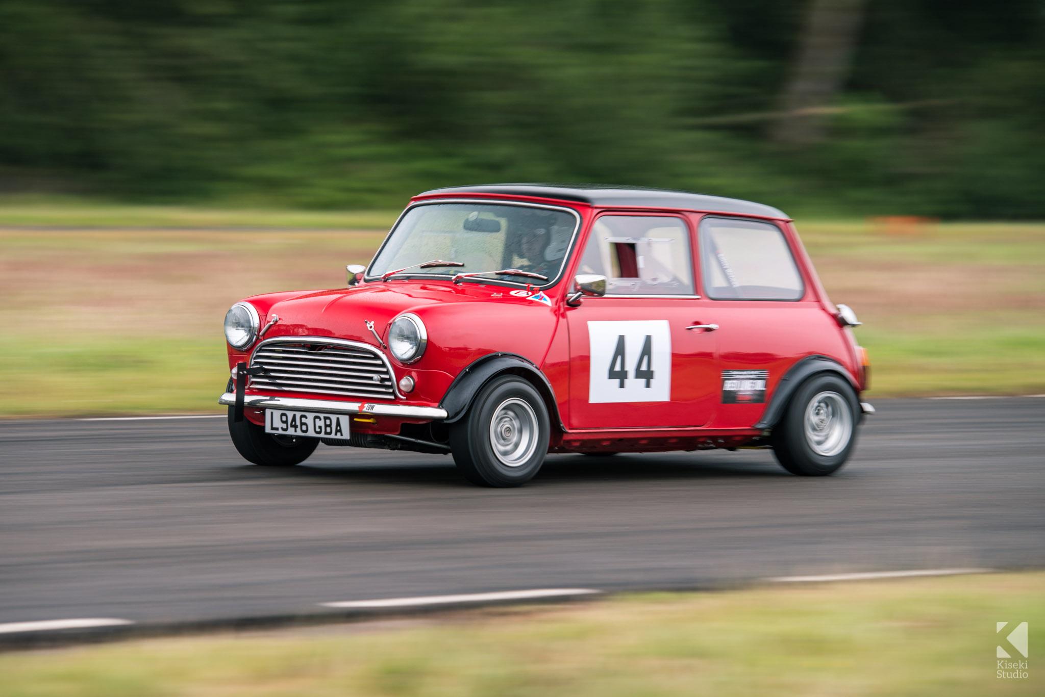 Mini Cooper Curborough Sprint Course