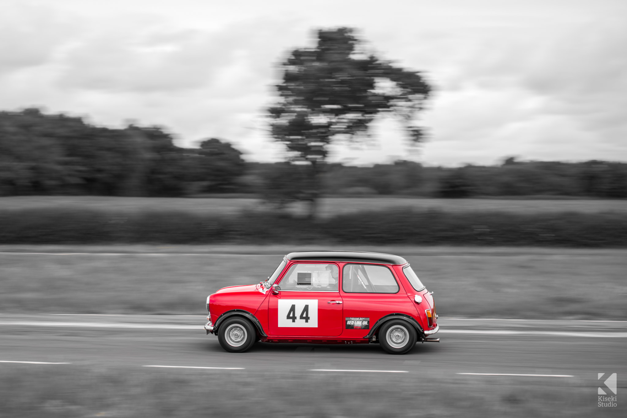 Mini Cooper Curborough Sprint Course