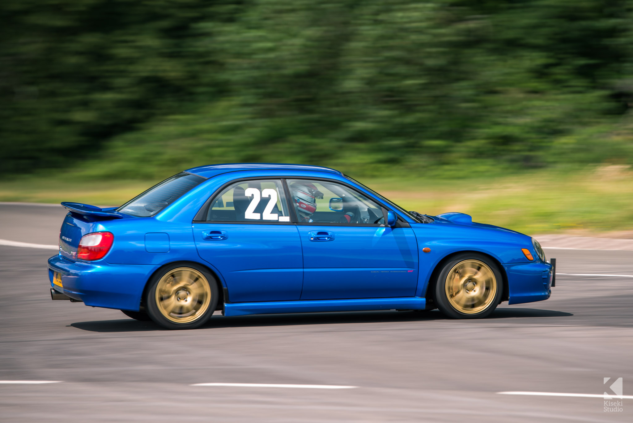 Subaru Impreza STI GDA Curborough Sprint Course