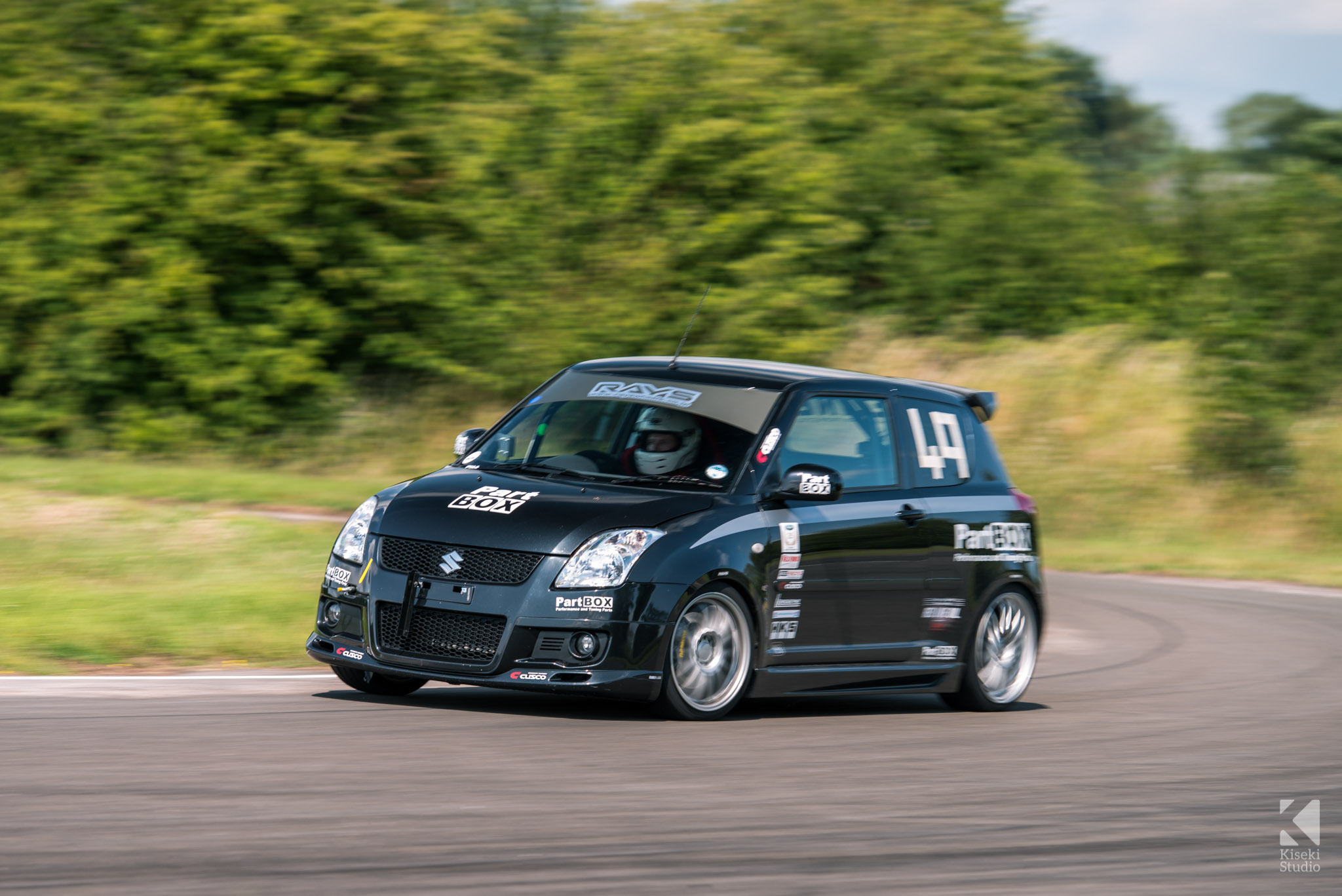 Suzuki Swift Sport Curborough Sprint Course