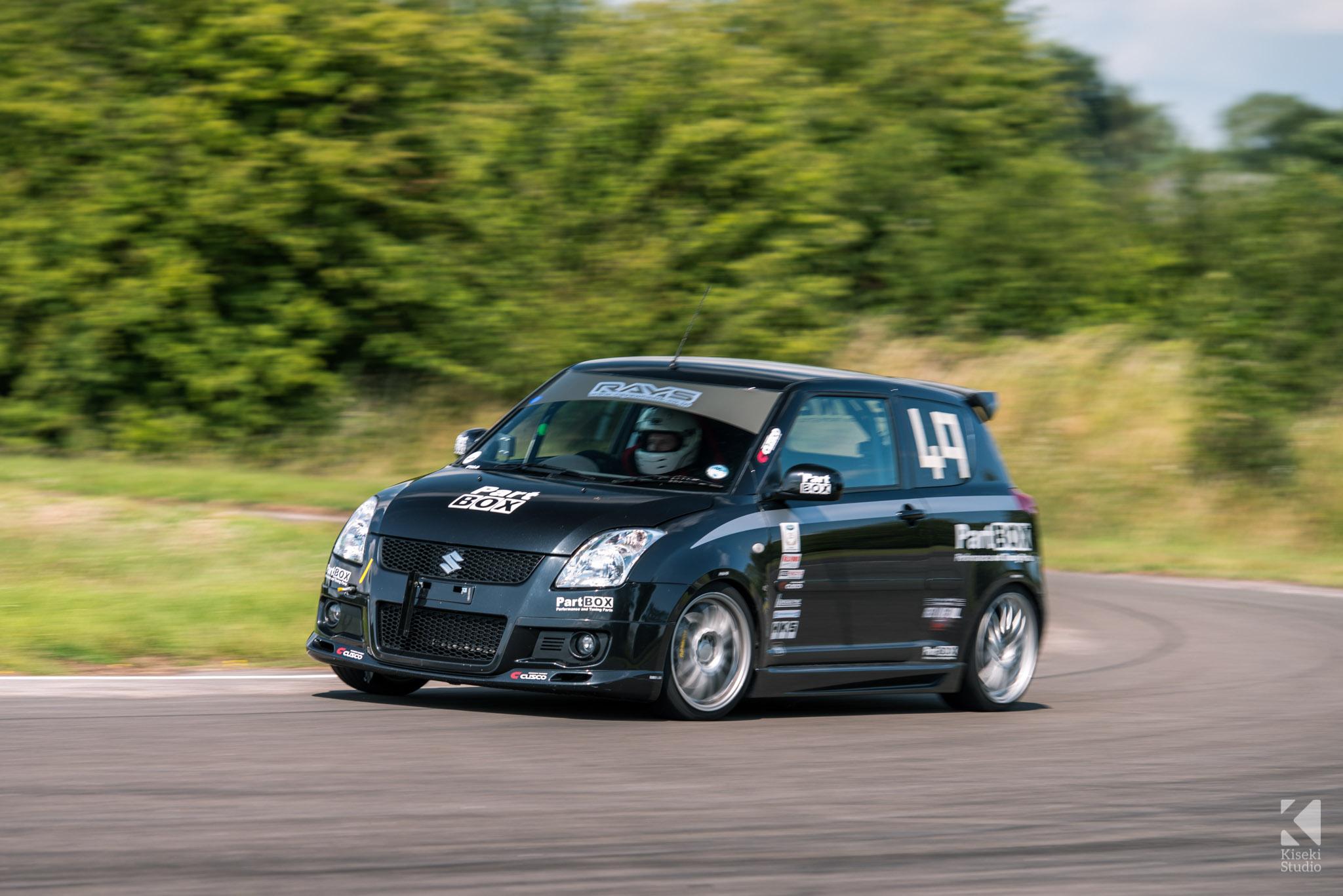 Suzuki Swift Sport Curborough Sprint Course