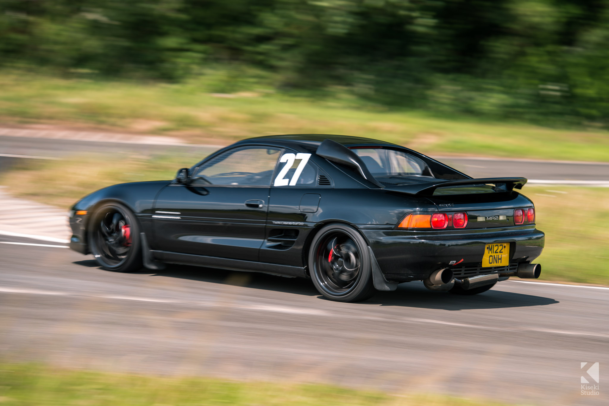 Toyota MR2 SW20 Curborough Sprint Course