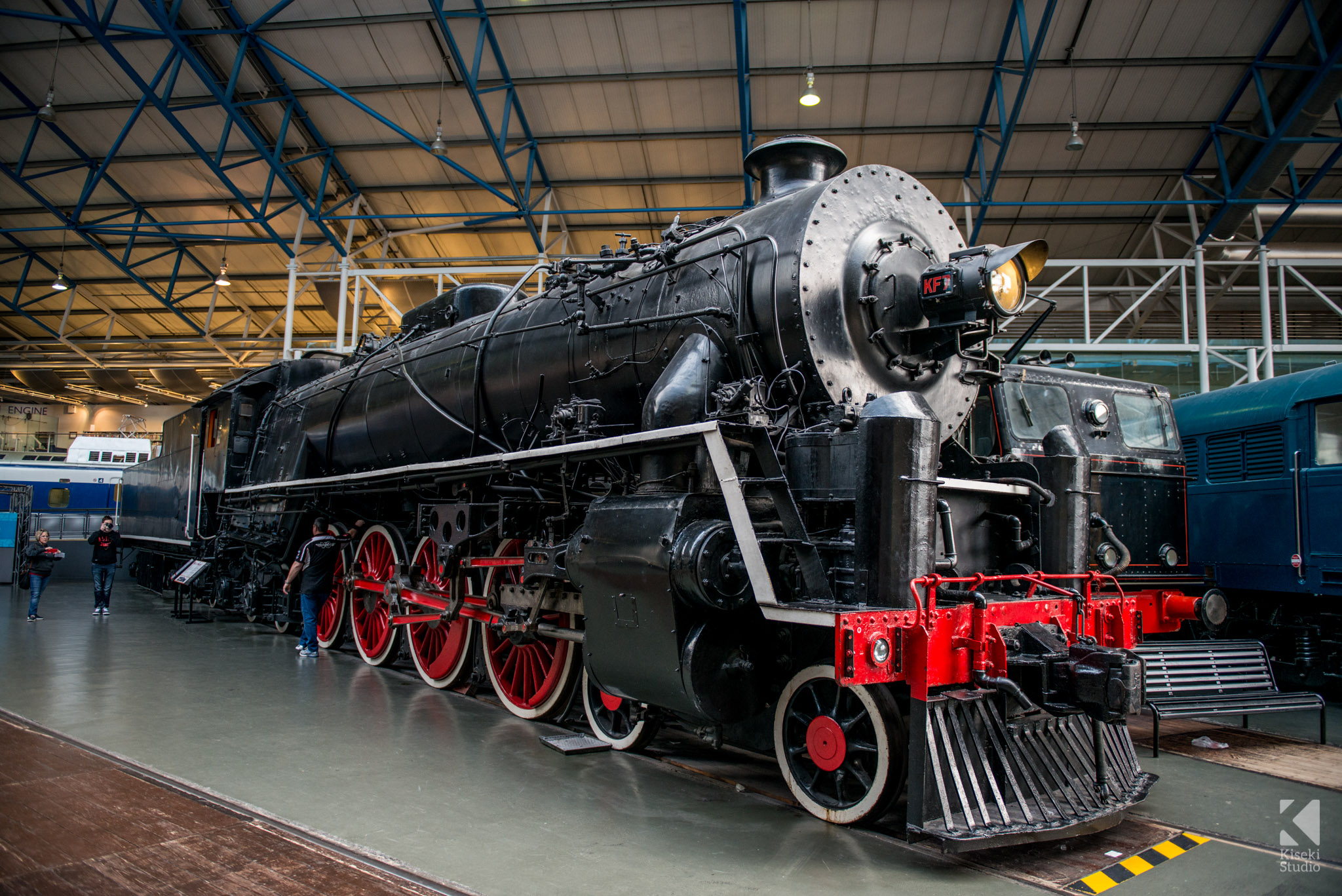 Chinese Government Railways Steam Locomotive 4-8-4 KF Class No 7