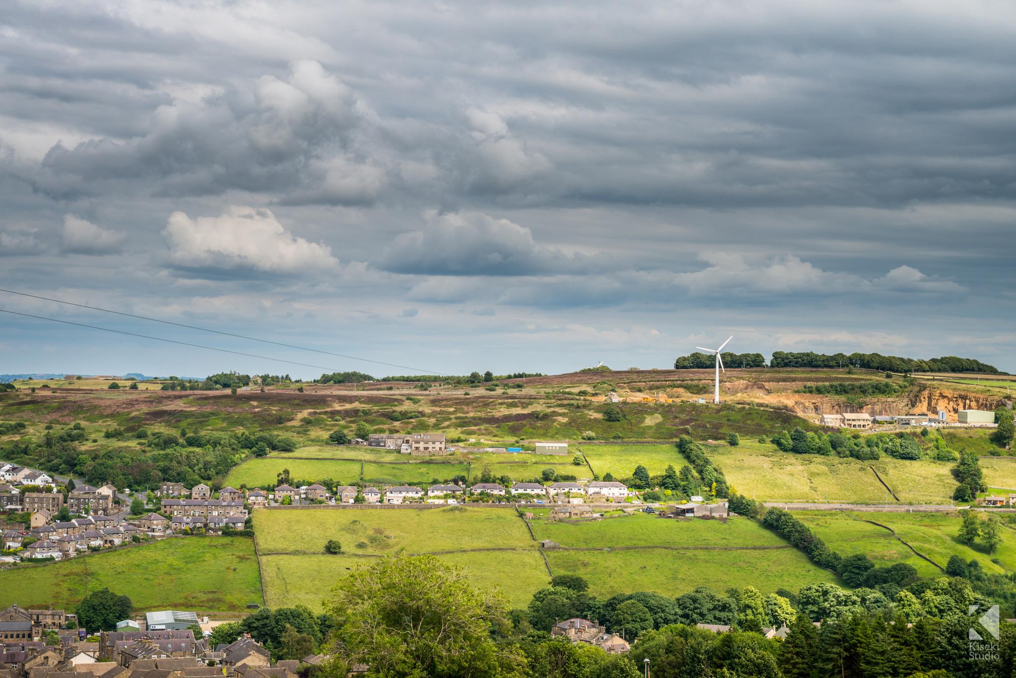 Black Moor Road Haworth Landscape