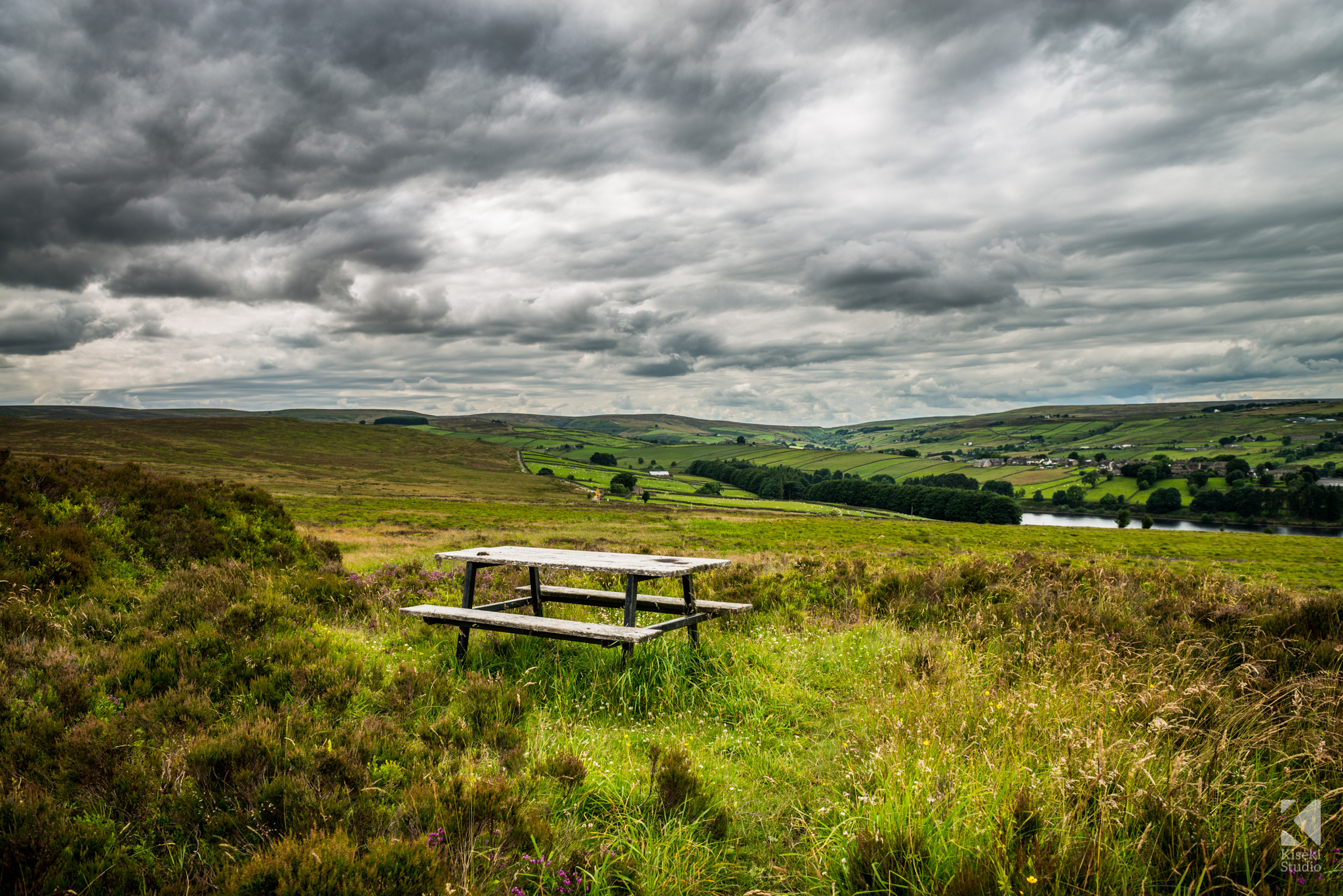 Bronte Way Bench Landscape