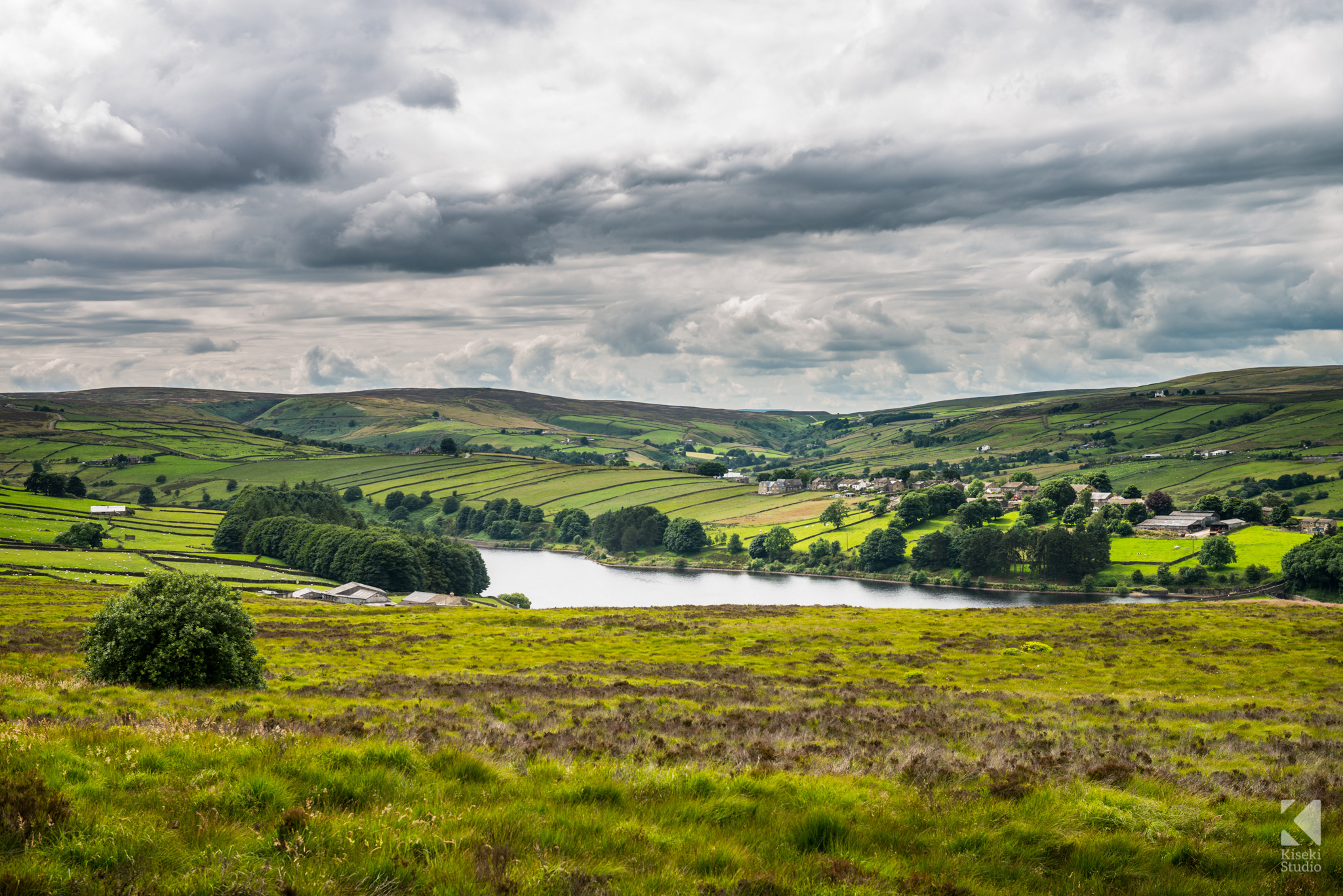 Lower Laithe Reservoir Stanbury