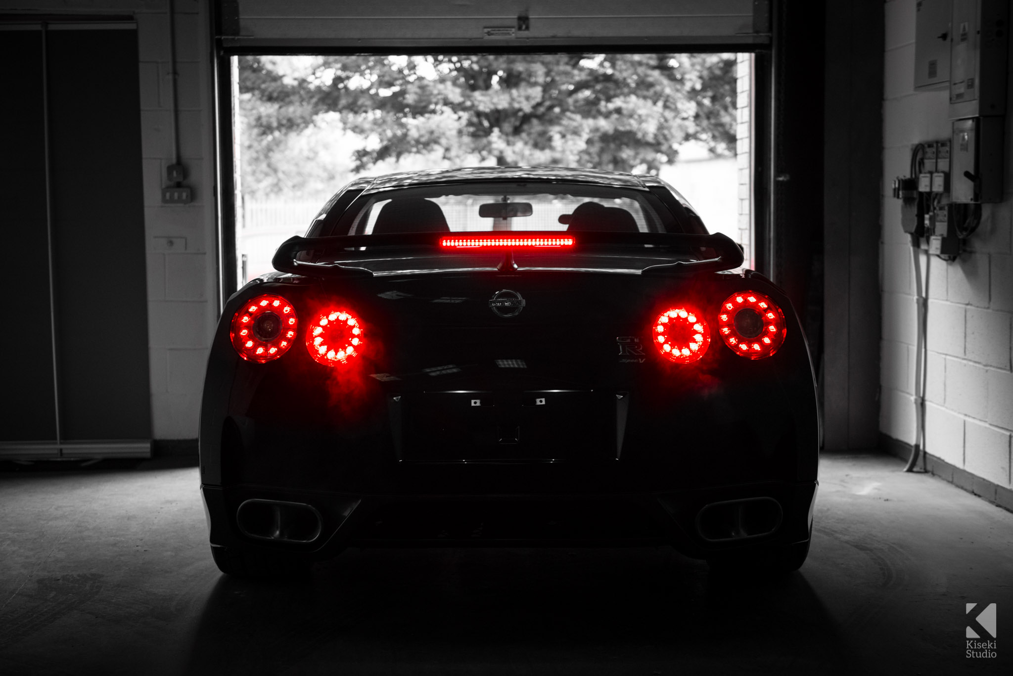 Nissan GT-R Spec V R35 Brake Lights
