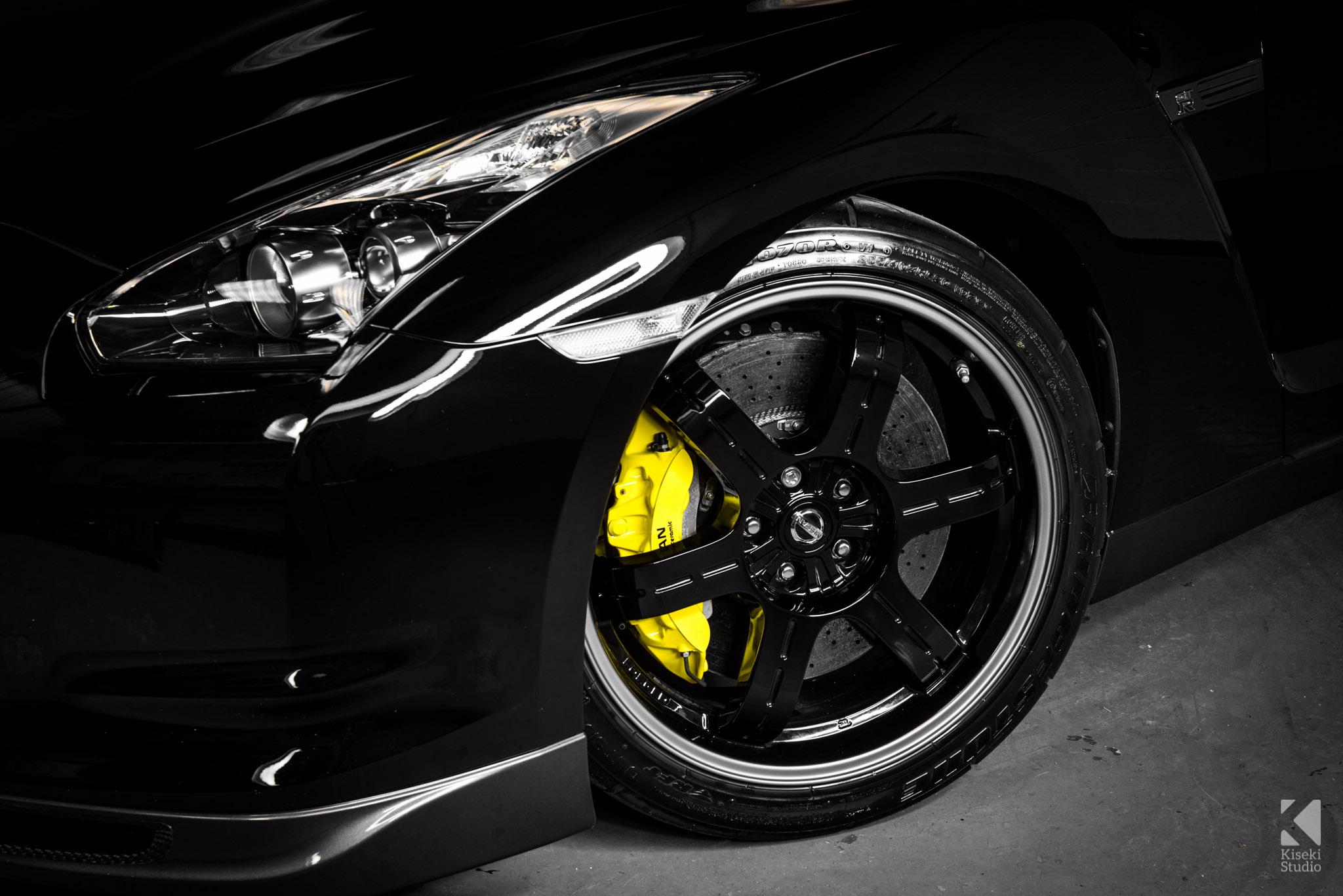 Nissan GT-R Spec V R35 Carbon Brakes