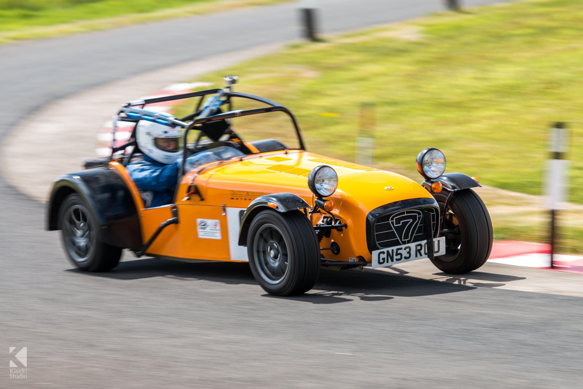 Caterham 7 Lotus at Harewood Hillclimb